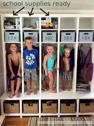 Love The Lockers Love The Kids Making Their Lockers Their Homes Diy Locker Mudroom Lockers