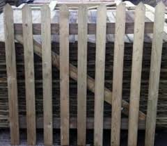 wooden fence panels garden wood fence