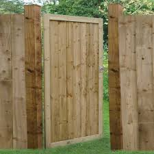 6ft High 1820mm Forest Featheredge Gate Elbec Garden Buildings