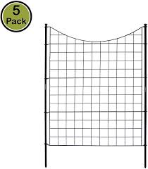 Need 2 Packs Of 5 Panels The Gate Zippity Outdoor Products Wf29002 Garden Metal Fence 1 Box 5 Panels 6 Stakes Metal Fence Metal Garden Fencing Fence