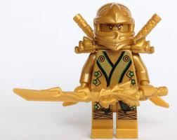Amazon.com: LEGO Ninjago - The GOLD Ninja with 3 Weapons: Toys & Games