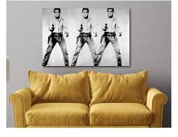 Andy Warhol Elvis Presley Pop Art Buy Online In Guernsey At Desertcart