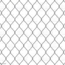 Creative Vector Illustration Of Chain Link Fence Wire Mesh Steel Metal Isolated On Transparent Background Art Design Gate Made Prison Barrier Secured Property Abstract Concept Graphic Element Stock Illustration Download Image