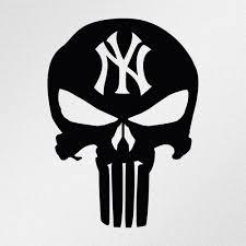 Punisher Skull New York Yankees Car Body Window Bumper Vinyl Decal Sticker Ebay Motors Parts Accessories Car Punisher Skull Vinyl Decal Stickers Punisher