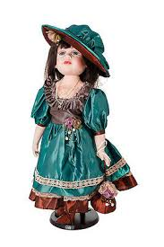 "Porcelain Doll Abigail, Ellis Island Collection, 20"" + a Stand #2 | eBay"