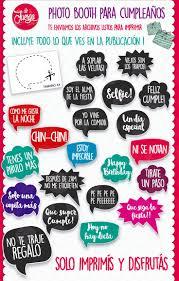 Frases Para Photo Booth Cumpleanos Para Imprimir Buscar Con