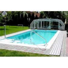 Cost Swimming Pool Enclosure Retractable Glass Roof China Manufacturer