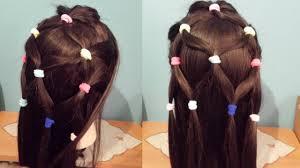 تسريحة شعر للبنات الصغار تسريحات بنات سهله