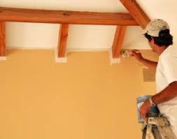 how to paint walls ceilings