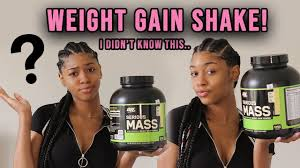 weight gain protein shakes