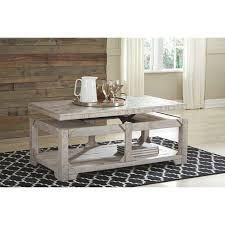 highland dunes ezio lift coffee table
