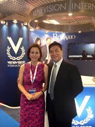 Adriana Cisneros with Ma Rausheng, Executive of China Cent… | Flickr