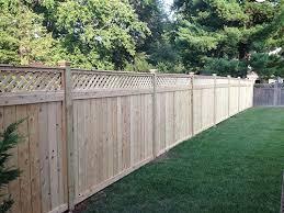 Lattice Fence Installation And Repair Hoco Fence
