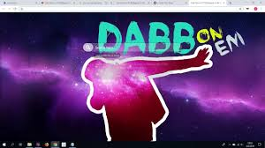 dab meme hd wallpaper new tab theme