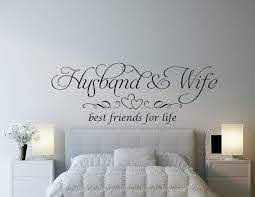 Husband And Wife Best Friends For Life Wall Decal Sticker