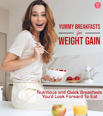 high calorie breakfasts for weight gain