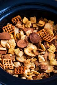 slow cooker bold chex mix recipe the