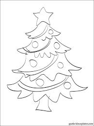 Versierde Kerstboom Kleurplaat Voor Afdrukken Gratis Kleurplaten