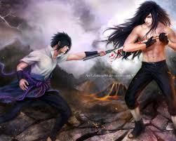 Free download madara uchiha vs sasuke uchiha fighting anime hd ...