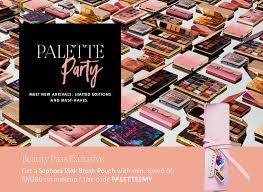 sephora exclusive makeup palettes