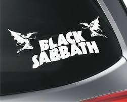 Ozzy Osborne Rock Metal Decal Sign Car Window Sticker Black Sabbath V02 Ozzy Osbourne Entertainment Memorabilia