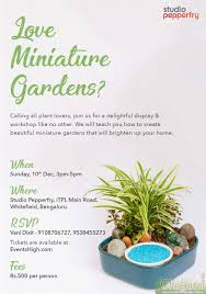 art of creating miniature gardens at