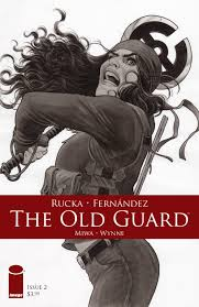 THE OLD GUARD #5 - Eric Trautmann: Comic book writer