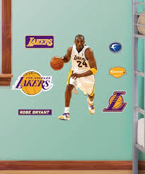 Los Angeles Lakers Kobe Bryant Fathead Jr Wall Decal Set Best Price And Reviews Zulily