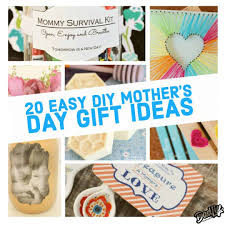 top 20 easy diy mother s day gift ideas