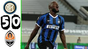 Inter vs Shakhtar Donetsk 5−0 - Highlights & All Goals 2020 HD - YouTube