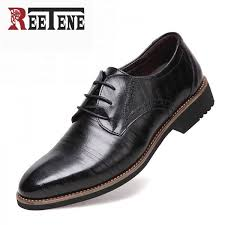 genuine leather dress shoes high