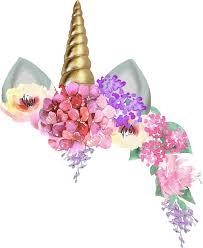 Unicorncrown Unicorn Unicornio Corona Flores Flowers