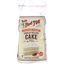 bob s red mill vanilla yellow cake mix