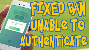 HOW TO - FIXED Unable to authenticate Please Try again Pokemon Go Ban Mod  Fix - YouTube