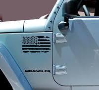 City Of Chicago Flag Decal American Jeep Wrangler Jku Window Vinyl Offroad Sc1