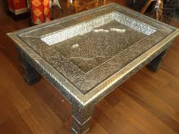 moroccan arabic silver carved embossed