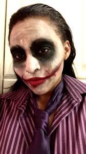 the joker halloween makeup tutorial
