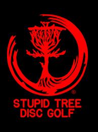 Window Decals Stupid Tree Disc Golf