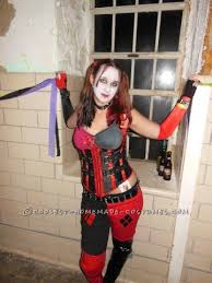 coolest homemade harley quinn costumes