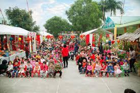"""Trường Mầm non Đa Mai tổ chức """"Hội chợ xuân của bé"""" năm ..."""