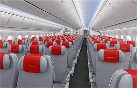 seat pitch norwegian boeing 787 dreamliner