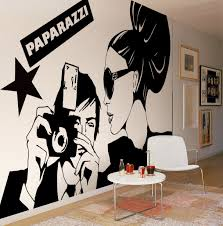 Bloompapers Paparazzi Mural
