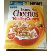 honey nut cheerios medley crunch