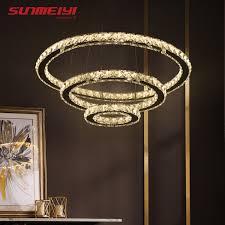 led crystal chandelier lights lamp