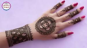 mehndi designs for circle