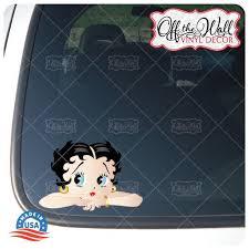 Betty Boop Car Truck Laptop Vinyl Decal Sticker Etsy