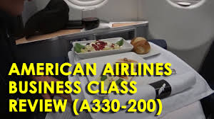 american airlines business cl aa716
