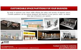 Customized Space Partitions for Restaurants, Bars, Salons, Offices, Service  Counters and More by Acer Exhibits & Events in Havre De Grace, MD -  Alignable