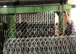 hot dip wire cages rock gabion baskets