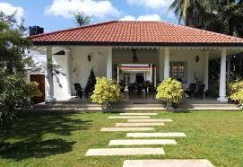 green grass garden negombo sri lanka